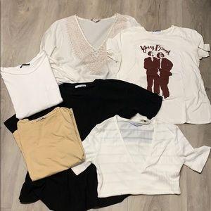 Zara huge tops bundle!!